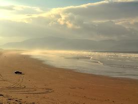 La plage d'Inch, Dingle
