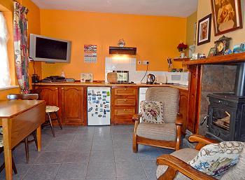 La «kitchen» traditionnelle irlandaise